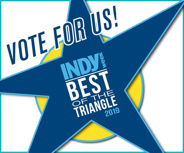 Indy Weekly - Best of Award Winner