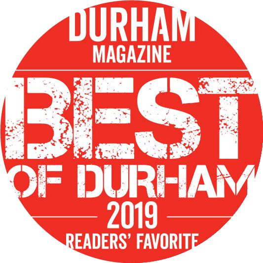 Indy Weekly - Best of Award Winner